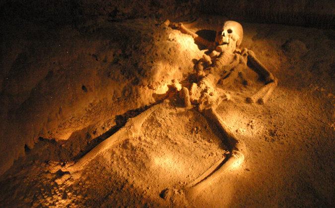 Cueva Actun Tunichil Muknal, Belice
