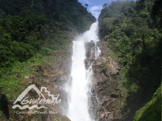 Salto de Chilascó, Guatemala