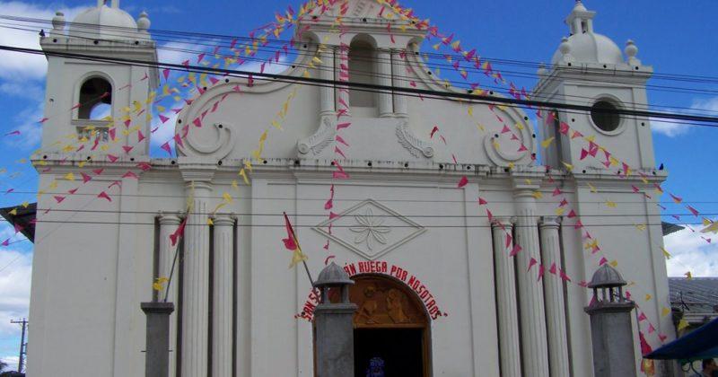 Iglesia San Sebastián, El Salvador