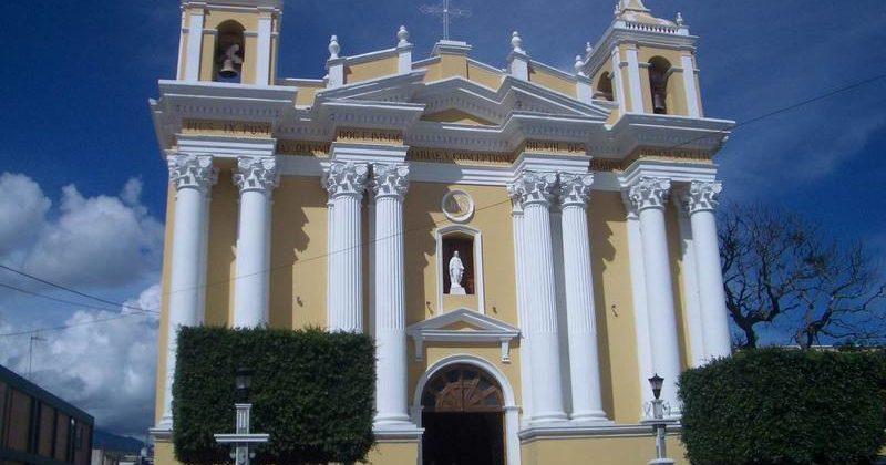 Catedral Huehuetenango, Guatemala
