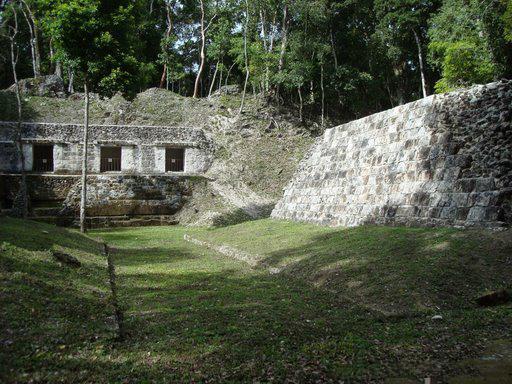 Zona Arqueológica El Naranjo, Guatemala
