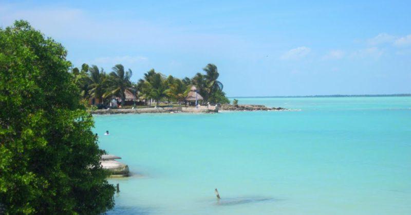 Playa en Calderitas, Quintana Roo