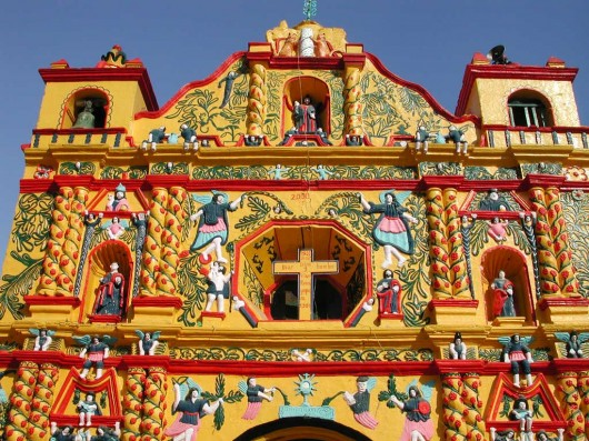 Iglesia San Andrés Xecul, Guatemala