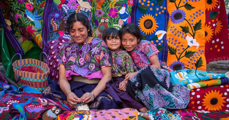 Artesanía en Zinacantán, Chiapas
