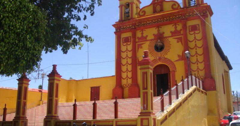 Iglesia de San Caralampio, Chiapas