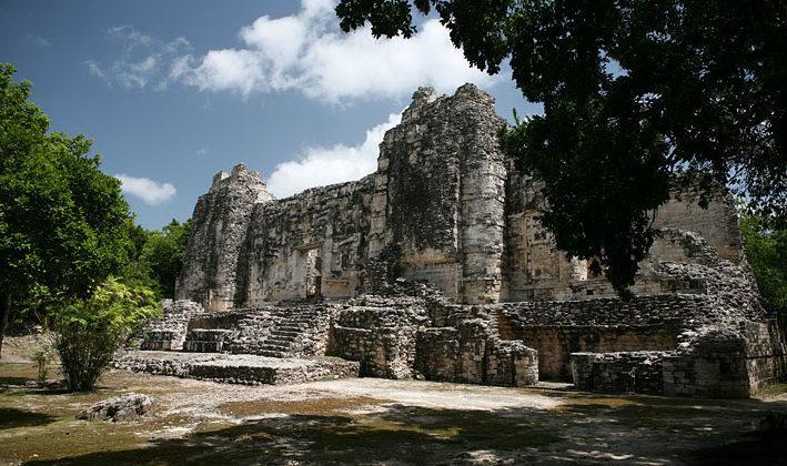Zona Arqueológica de El Hormiguero, Campeche