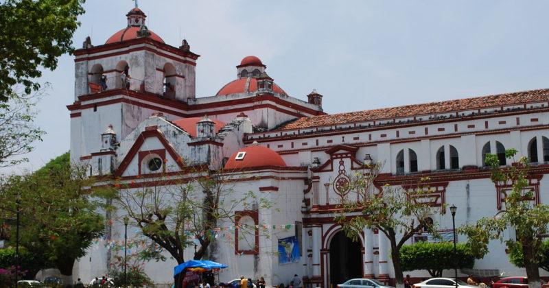 Iglesia de Santo Domingo de Guzmán en Chiapa de Corzo