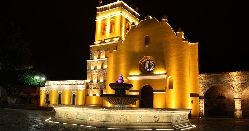 Iglesia de Santo Domingo de Guzmán en Comitán