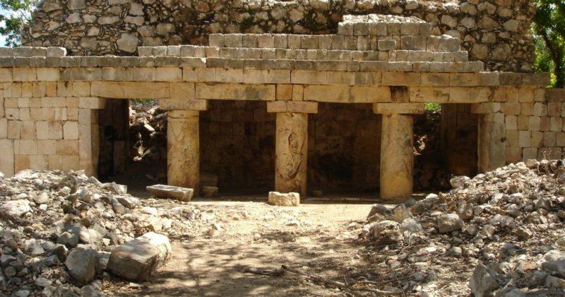 Zona Arqueológica de Xcalumkín, Campeche