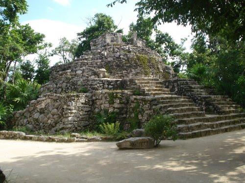 Zona Arqueológica Xcaret, Quintana Roo