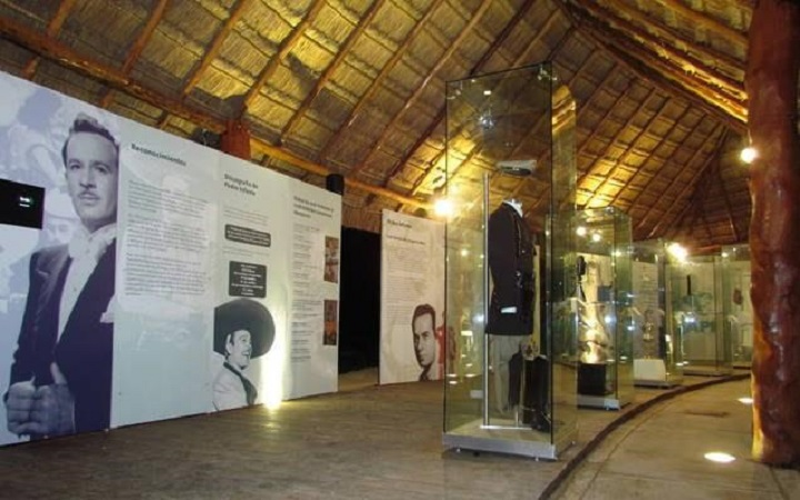 Museo API a Pedro Infante en Isla Arena, municipio de Calkiní.