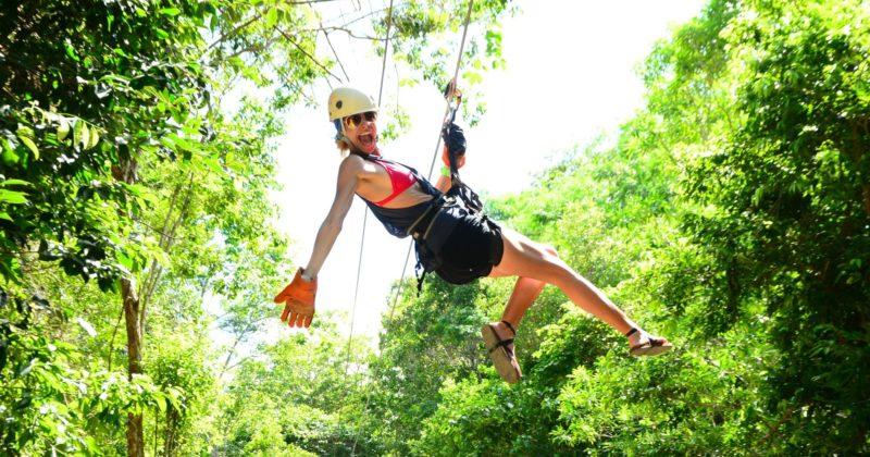 Jungle Adventure Aktún Chen, Quintana Roo
