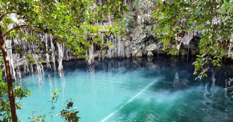 Cenote Yokdzonot, Yucatán