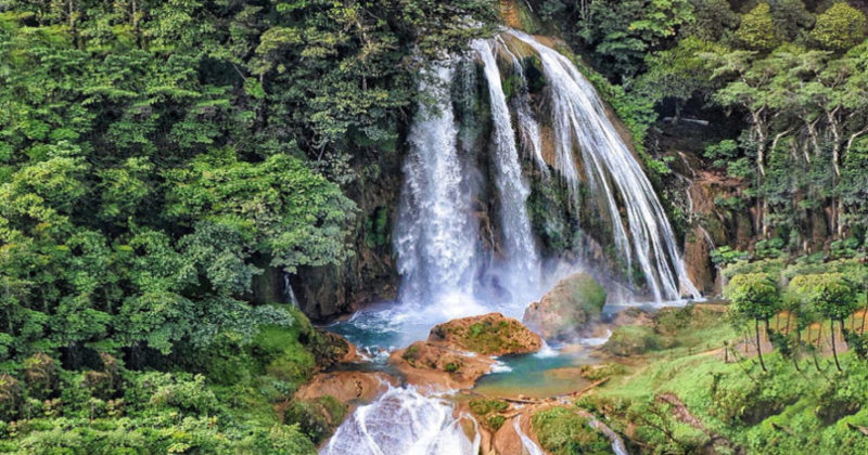 Cascada Santa Avelina, Guatemala