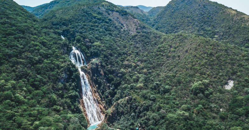"Cadena de Cascadas ""El Chiflón"", Chiapas"