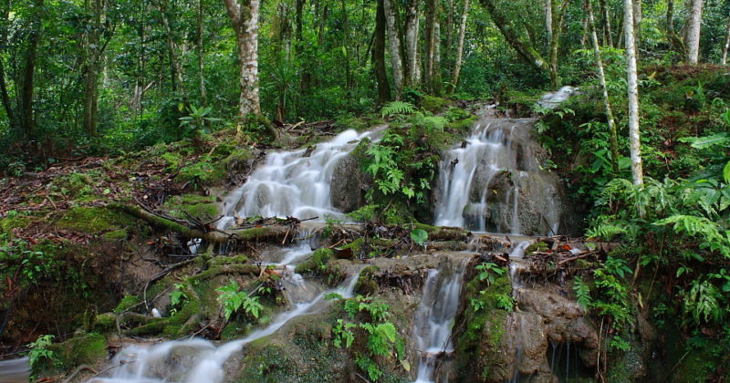"""Cascada """"El Corralito"""", Chiapas"""