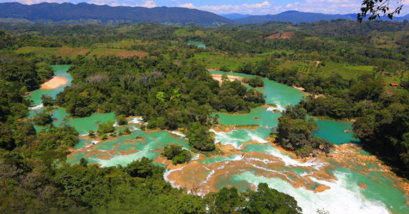 Cascadas Las Nubes, Chiapas