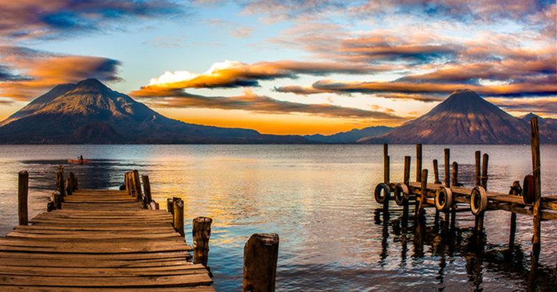 Lago de Atitlán, Guatemala