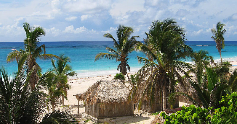 Playa de Tulum, Quintana Roo