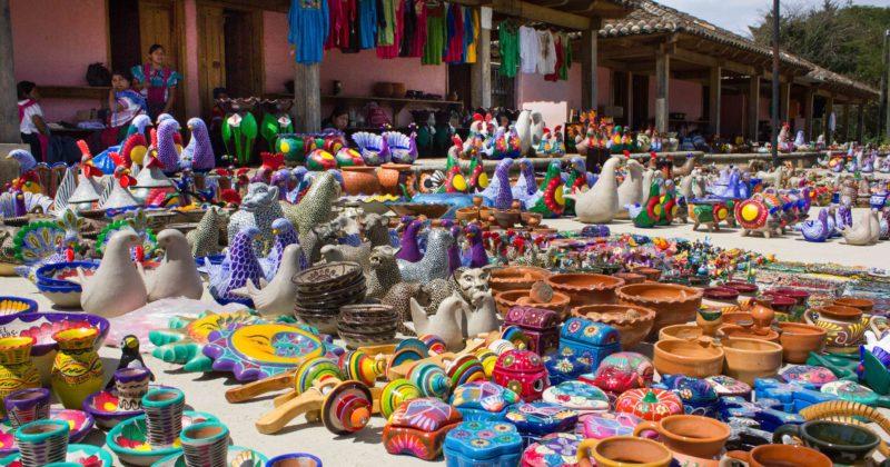 Artesanía en Amatenango del Valle, Chiapas
