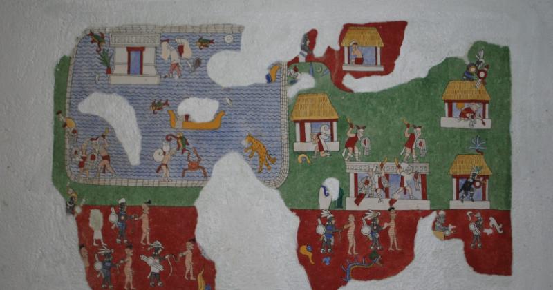 """Museo de sitio en """"Chichén Itzá"""", Yucatán"""