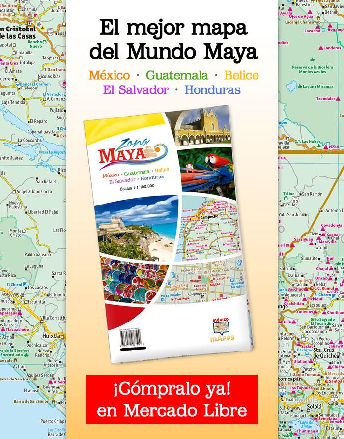 Mapa Zona Maya